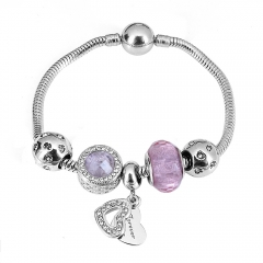 Stainless Steel Charms Bracelet Y245226