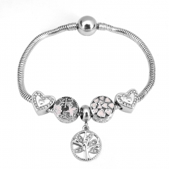 Stainless Steel Charms Bracelet Y275217