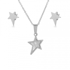 Stainless Steel Jewelry set Necklace  XXXS-0201