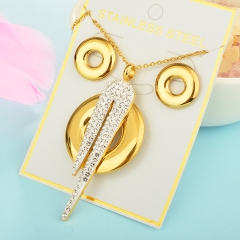 Stainless Steel Jewelry set Necklace  XXXS-0212