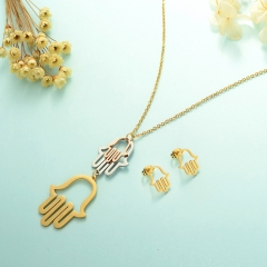 Stainless Steel Jewelry Set 18k Gold Jewelry Wholesale  XXXS-0243