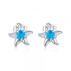 925 Sterling Silver Earrings SCE886
