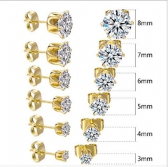 women cute stud earrings XXXE-0125