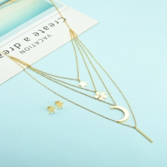 Stainless steel necklace set for women XXXS-0447
