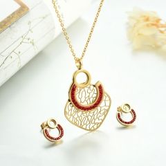 Stainless steel necklace set for women STAO-3848B