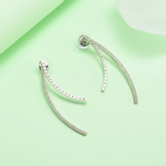 stainless steel gold plated Hoop earrings jewelry for women  XXXE-0260