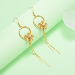 stainless steel gold plated Hoop earrings jewelry for women  XXXE-0247