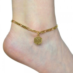 Stainless Steel Anklet AN-099