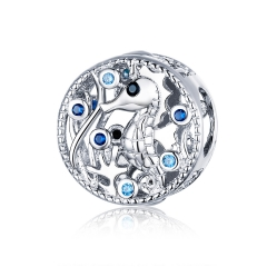 925 sterling silver luxury charms  BSC266