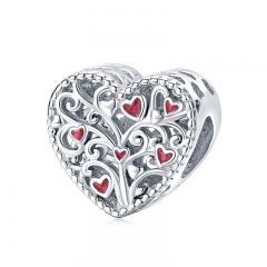925 sterling silver luxury charms  BSC279