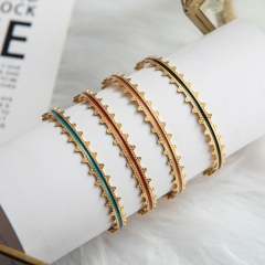 Fashion Stainless Steel Bangle   ZC-0551